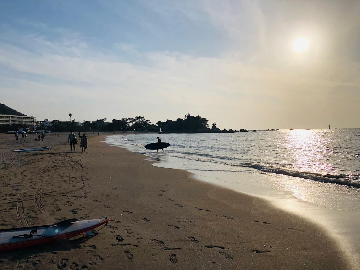 Sunset of Morito beach