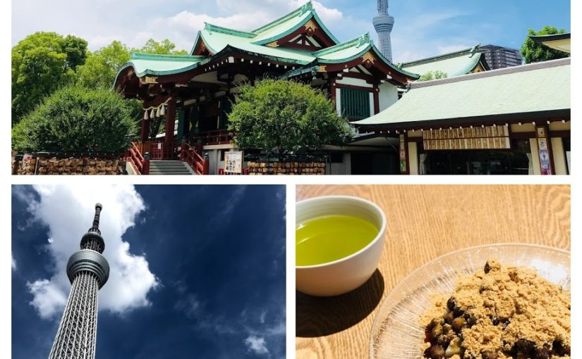 Introduce a new walk course to the Sky Tree! Let's enjoy Edo Kiriko, local food, shrine!
