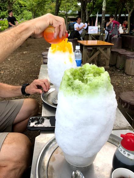 shave ice st Mt.shiroyamakobotoke