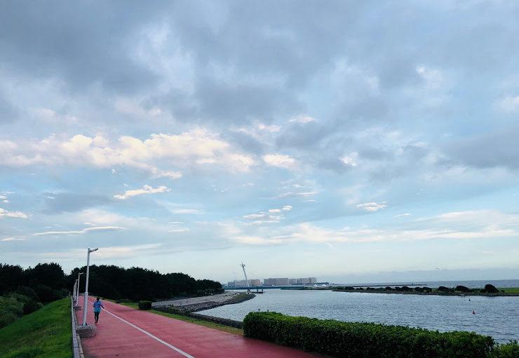 Maneki-no-yu hot spring | Run along the Arakawa river and Run around Kasai Rinkai Park