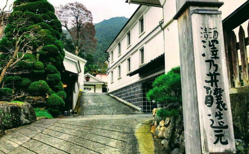 Sake brewery tour near Tokyo while enjoying a beautiful valley and Sake tasting