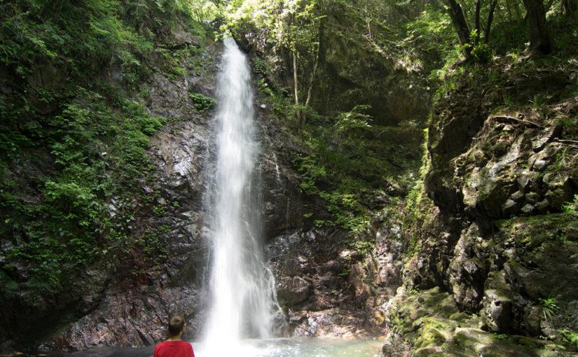 Access to Hosawa Waterfall Entrance (Hosawa-no-taki-Iriguchi, 払沢の滝入口)